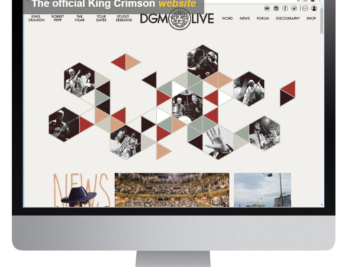 The Official King Crimson Website