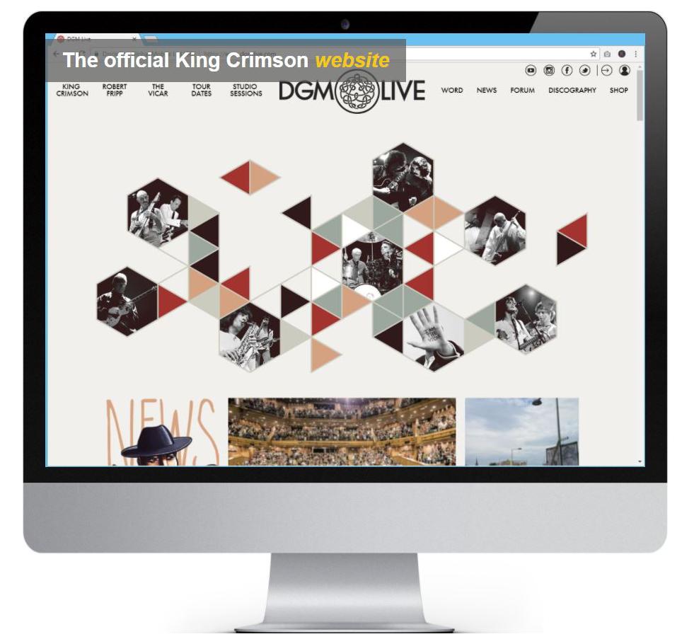 King Crimson website